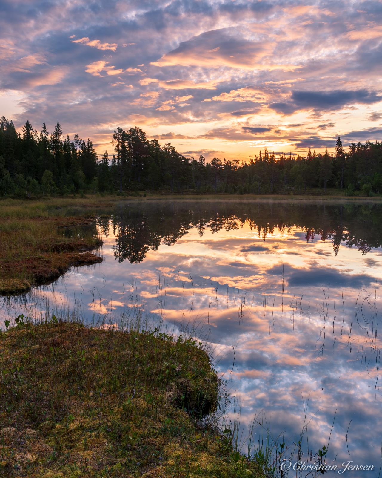 Silent pond