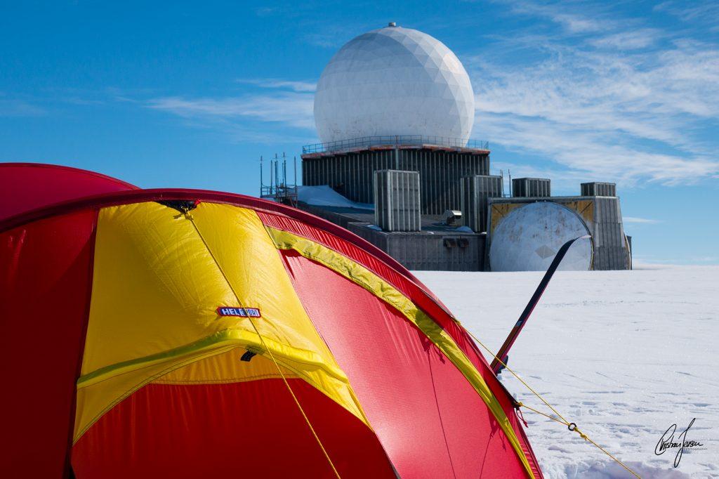 Dye II radar station